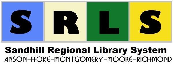 Logo for Sandhill Regional Library System