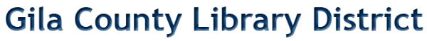 Logo for Gila County Library District