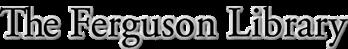 Logo for The Ferguson Library