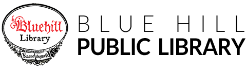 Logo for Blue Hill Public Library