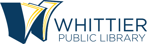 Logo for Whittier Public Library