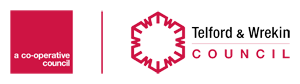 Logo for Telford & Wrekin Libraries