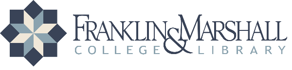 Logo for Franklin & Marshall College
