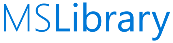 Logo for Microsoft Library