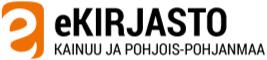 Logo for Kainuun ja Pohjois-Pohjanmaan eKirjasto