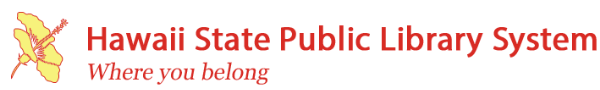 Logo for Hawaii State Public Library System