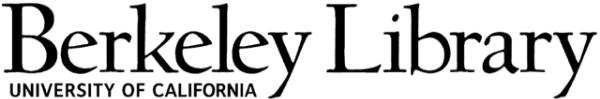 Logo for University of California Berkeley