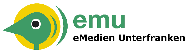Logo for eMedien Unterfranken