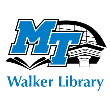 Logo for Middle Tennessee State University