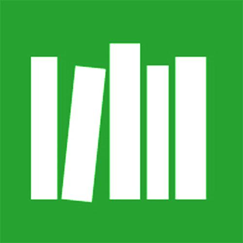 Logo for Biblioteken i Härryda kommun