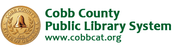 Logo for Cobb County Public Library System