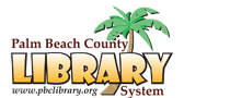 Logo for Palm Beach County Library System
