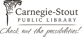 Logo for Carnegie-Stout Public Library