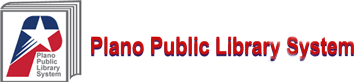 Logo for Plano Public Library System