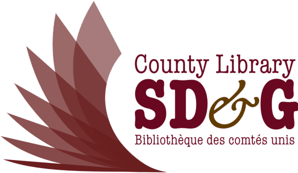 Logo for Stormont, Dundas & Glengarry County Library