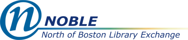 Logo for NOBLE: North of Boston Library Exchange