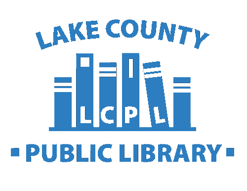 Logo for Lake County Public Library