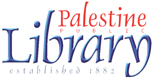 Logo for Palestine Public Library