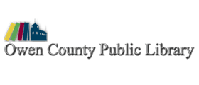 Logo for Owen County Public Library