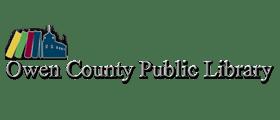 Logo for Owen County Public Library