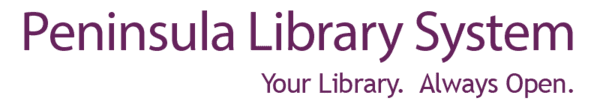 Logo for Peninsula Library System