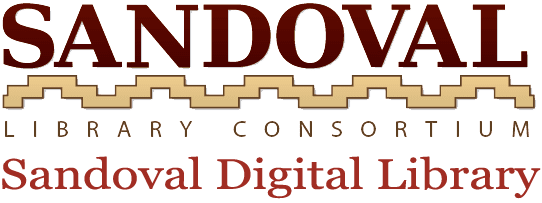 Logo for Sandoval County Library Consortium
