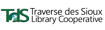 Logo for Traverse des Sioux Library Cooperative