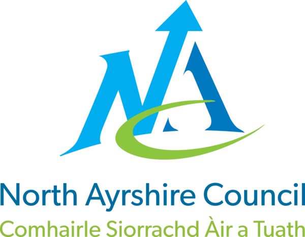 Logo for North Ayrshire Libraries