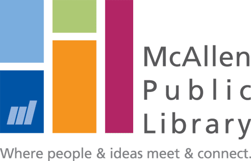 Logo for McAllen Public Library