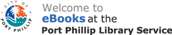 Logo for Port Phillip Library Service
