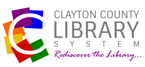 Logo for Clayton County Library System