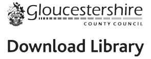 Logo for Gloucestershire Libraries