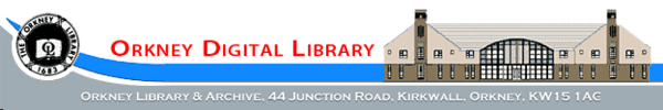 Logo for The Orkney Library & Archive