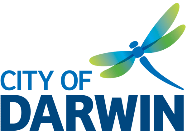Logo for Darwin City Council Libraries