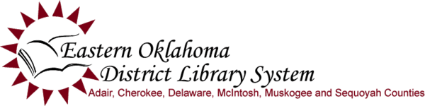 Logo for Eastern Oklahoma District Library System