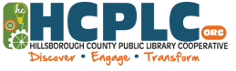 Logo for Hillsborough County Public Library Cooperative