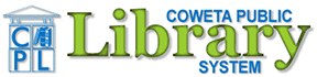 Logo for Coweta Public Library System