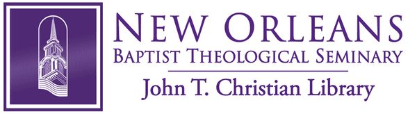 Logo for New Orleans Baptist Theological Seminary