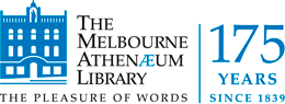 Logo for The Melbourne Athenaeum Library