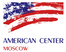 Logo for US Embassy- Moscow American Center